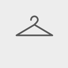 Hanger thin line icon