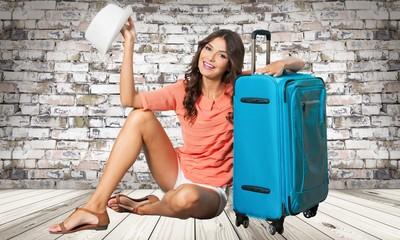 Tourist, holiday, girl.