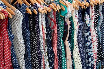 Rockabilly polka dot dresses