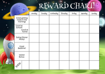 Childs Reward or Chore Chart