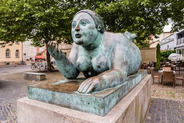 Dicke Frau am Heumarkt Bamberg