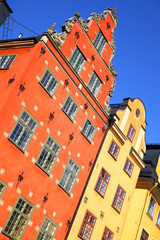 Wall Mural - Old houses on Stortorget