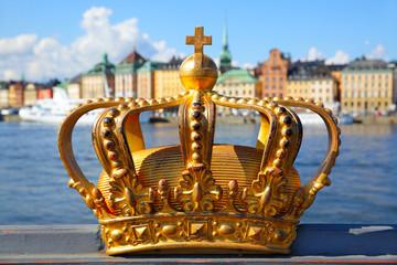 Crown in Stockholm