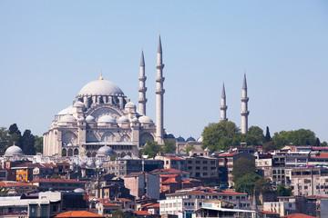 Süleymaniye Mosque and Minarets, Istanbul