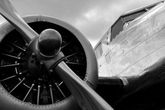 Avion a hélice