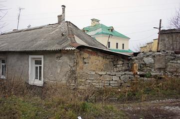 General view of the city Kamenets-Podolsky, Ukraine