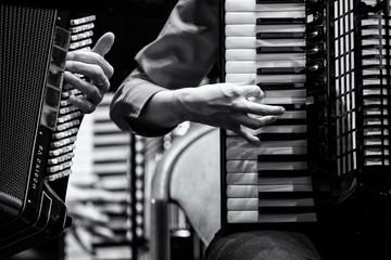 Konzert Handharmonika Club, Akkordeon Orchester, Detail