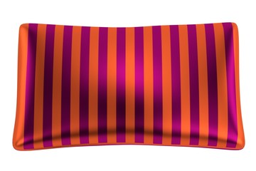3d render of satin pillow