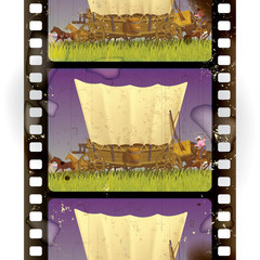Western film strip