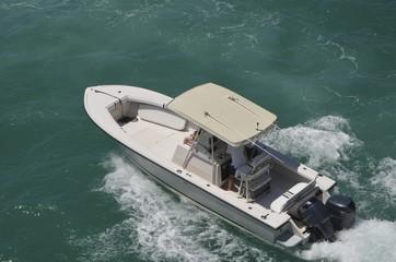 Fishing Boat Family Cruise