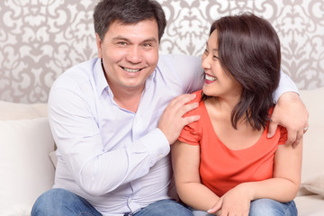Picture of Asian couple