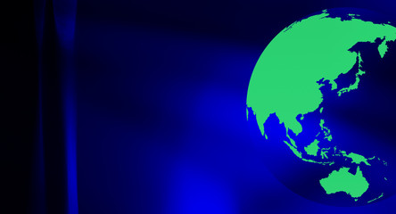 Eco worldwide business concept background