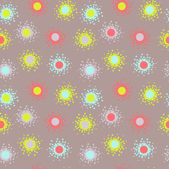 colorful abstract vector illustration pattern