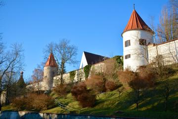 Stadtmauer in Neuburg an der Donau
