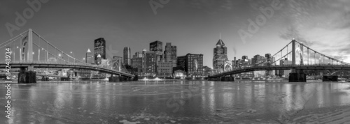 Wall mural Skyline of downtown Pittsburgh