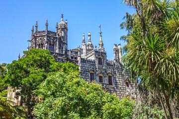 Fotomurales - Palace Quinta da Regaleira, Sintra, Portugal. Palace