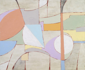 Pastelowa abstrakcja