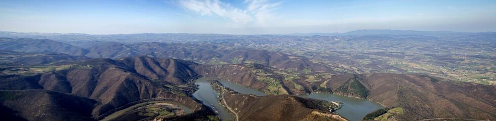 Ovcar gorge in Serbia