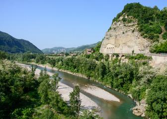 """La Rupe"" (The Rock) of Sasso Marconi, Italy"