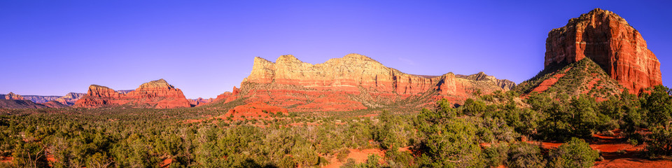Wall Murals Arizona Courthouse Butte panorama