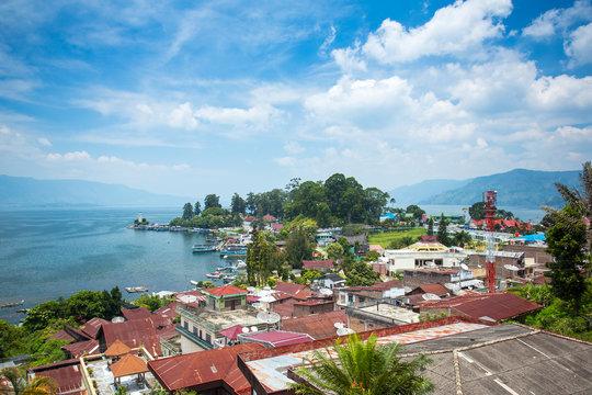 Parapat village, Sumatra, Indonesia