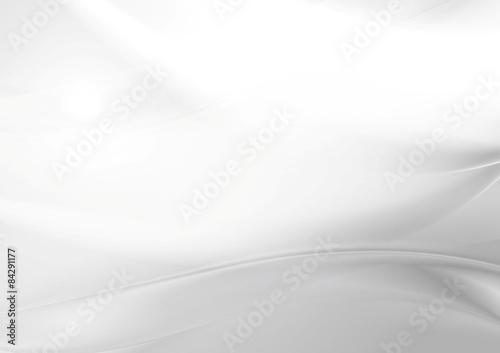 Wall mural Abstract grey pearl smooth waves