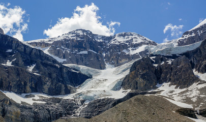 Stanley Glacier in Kootenay National Park