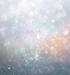 abstract blurred photo of bokeh light burst and textures