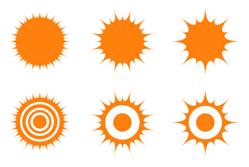 orange sun icon