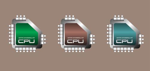 Central processing unit set