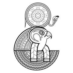 God of ancient Egypt. Ra