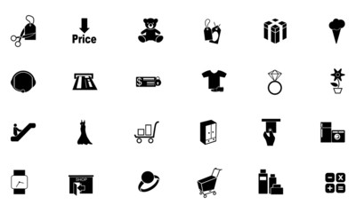 Shopping Solid Icons 5