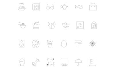 Line icons 13
