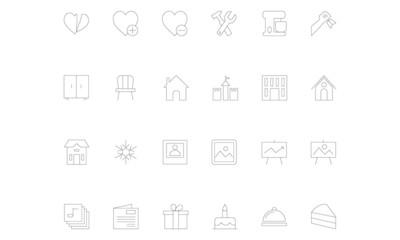 Line icons 15