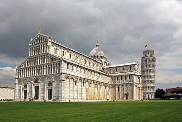 The Piazza dei Miracoli in Pisa