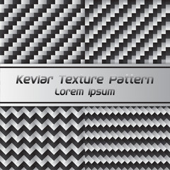 Carbon kevlar Texture Pattern. Vector Illustration