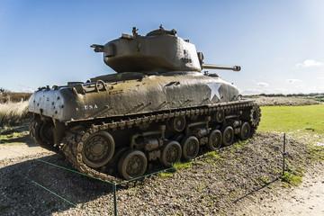 US tank