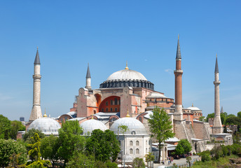 St. Sophia Cathedral , Istanbul, Turkey