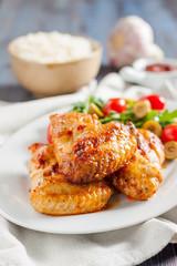 spicy chicken wings Buffalo