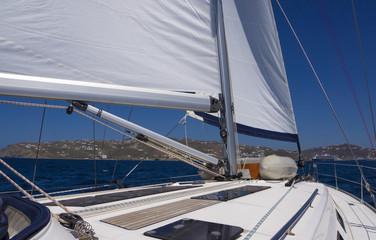 Sailing to Mykonos