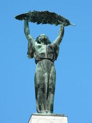 Gellert Hill top statue