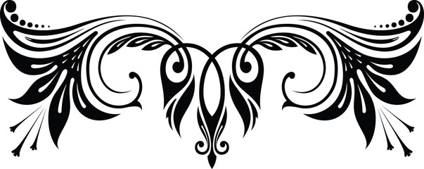 Design element, lily