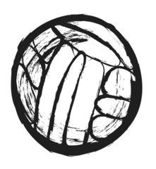 doodle water polo ball