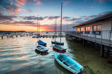 Wall Mural - Boats on Poole Harbour