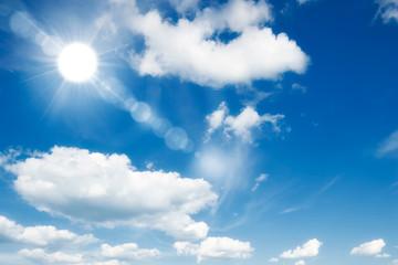 blue sky with cloud, sky background