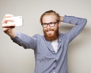Funny selfie. Happy day.