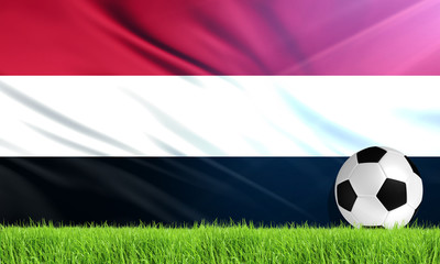 The National Flag of Yemen
