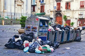 Müllproblem in Neapel