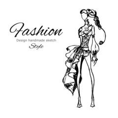 Vector Model Fashion