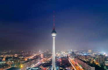 Panoramic view over Berlin